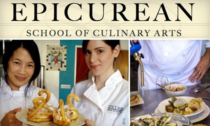 Epicurean School of Culinary Arts - West Hollywood: $42 for a Three-Hour Cooking Workshop at Epicurean School of Culinary Arts in West Hollywood