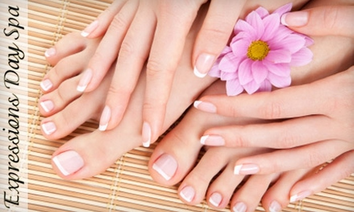 Expressions Day Spa - Catawba Springs: $25 for a Basic Mani-Pedi at Expressions Day Spa in Denver