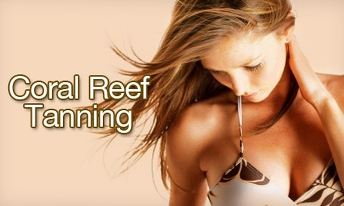 Coral Reef Tanning - University: $19 for One Month of Unlimited Tans at Coral Reef Tanning ($40 Value)