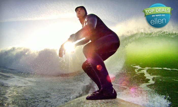 University of Surfing - Pacifica: $50 for a Two-Hour Introductory Group Surfing Lesson from University of Surfing in Pacifica ($100 Value)