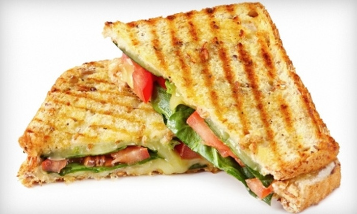 The Hydrostone Café - North End: $5 for a Sandwich Lunch Combo at The Hydrostone Café