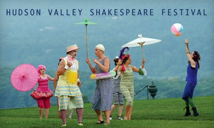 "Hudson Valley Shakespeare Festival - Cold Spring: $20 for a General-Admission Ticket to ""Bomb-itty of Errors"" at the Hudson Valley Shakespeare Festival (Up to $47 Value)"