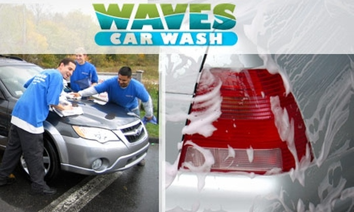 Waves Car Wash - West Roxbury: $30 for a Five Pack of Extreme Exterior Car Washes at Waves Car Wash ($95 Value)