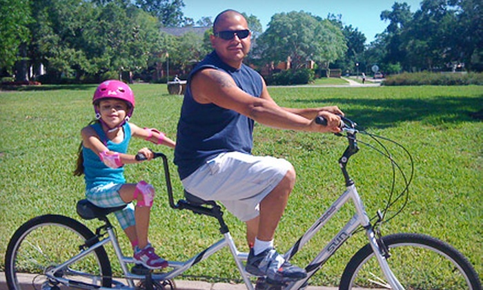The Lighthouse of Houston - Neartown/ Montrose: If 45 People Donate $10, Then The Lighthouse of Houston Can Purchase Three Tug-a-Bugs to Allow Blind Children to Ride Bikes