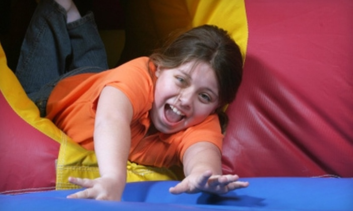 Bounces R US - Multiple Locations: $40 for 10 Open-Jump Visits at Bounces R Us ($80 Value). Two Locations Available.