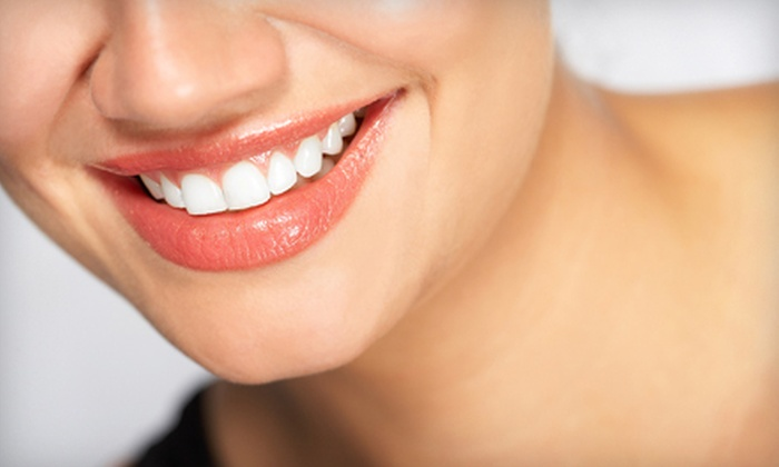 Champagne Smiles - Robertsville: Dental Exam or Dental-Care Package at Champagne Smiles in Morganville (Up to 88% Off)