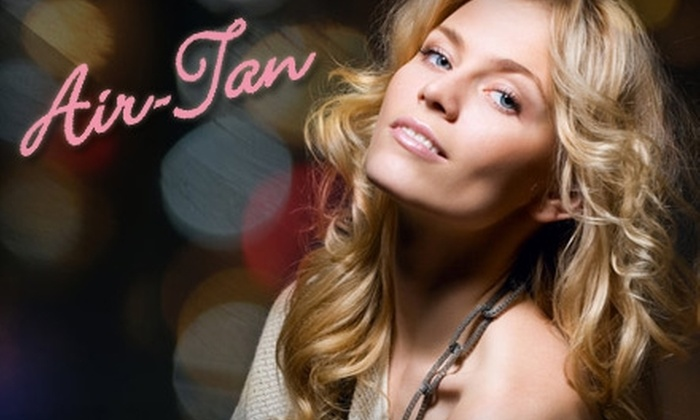 Air Tan in Franklin - Franklin: $10 for One Full Body Tan (a $25 Value) at Air Tan in Franklin