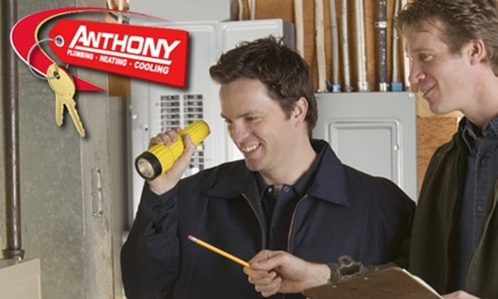 Anthony Plumbing Heating and Cooling - Multiple Locations: $49 for a Furnace Tune-Up from Anthony Plumbing Heating and Cooling ($99 Value)