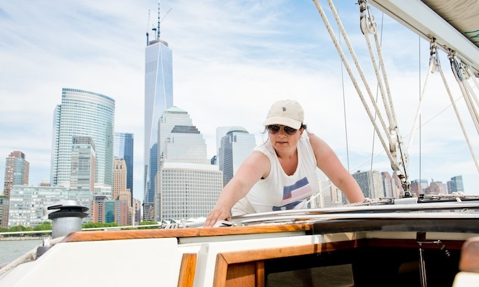 Sailors NYC - Pier 25, until July 1: One or Three Hands-On Sailing Lessons for One or  Two at Sailors NYC in Manhattan (Up to 52% Off)