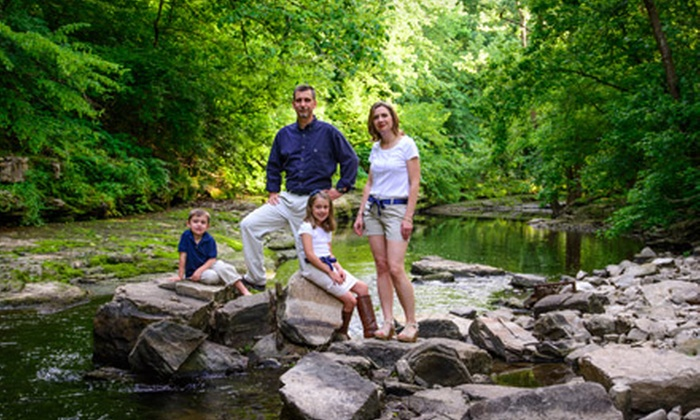 Tom Carr Photography - Lexington: One-Hour Outdoor Digital Photo Package with Optional Print Sheets from Tom Carr Photography (Up to 72% Off)