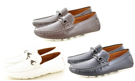 Men's Perforated Loafers