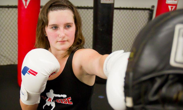 Elite Training Center - Pleasanton: 10 or 20 Boxing- and Kickboxing-Centered Fitness Classes at Elite Training Center (Up to 88% Off)