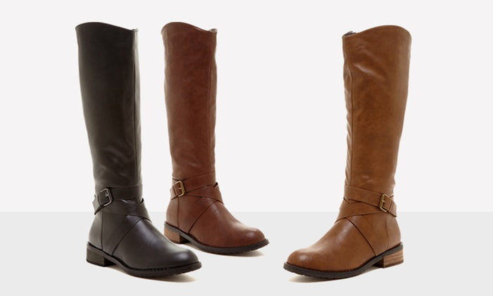 Bucco Venita Women's Riding Boot | Groupon Goods