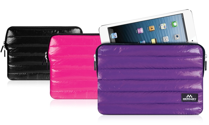 Merkury Innovations Puffy Sleeve for e-Readers and Tablets: Merkury Innovations Puffy Sleeve for e-Readers and Tablets in Black, Pink, or Purple. Free Returns.