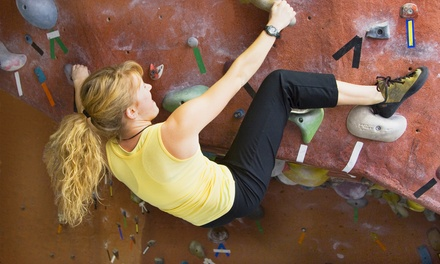 Two-Month Rock-Climbing Package with Technique Class or a Kids' Climbing Party for Up to 10 (Up to 78% Off)