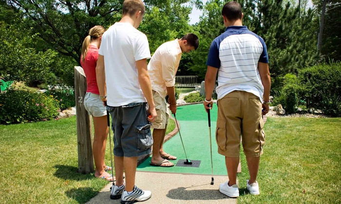 Goony Golf - Goony Golf: Two Rounds of Mini Golf for Two or Four at Goony Golf (Up to 52% Off)