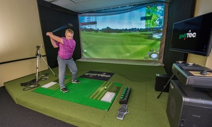 GolfTEC: One- or Two-Hour Golf Simulator for Up to Four or 1-Hour Sim with Swing Evaluation at GolfTEC (Up to 54% Off)