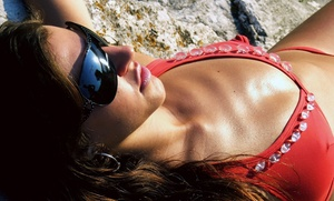 Uv Or Spray Tanning At Hollywood Tans (up To 75% Off). Three Options Available.