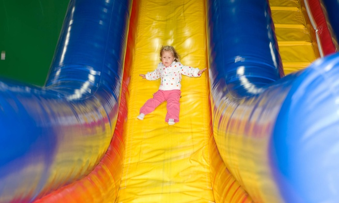 Pump It Up - Hartville: Three or Five Open-Jump Visits or Unlimited Summer Fun Pass at Pump It Up (50% Off)