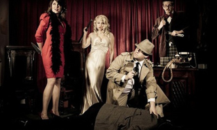 "Sherlock's Dinner Theatre: Polter-Heist - Coral Springs Municipal Complex: Sherlock's Dinner Theatre: ""Polter-Heist"" at Coral Springs Center for the Arts (Up to 55% Off)"