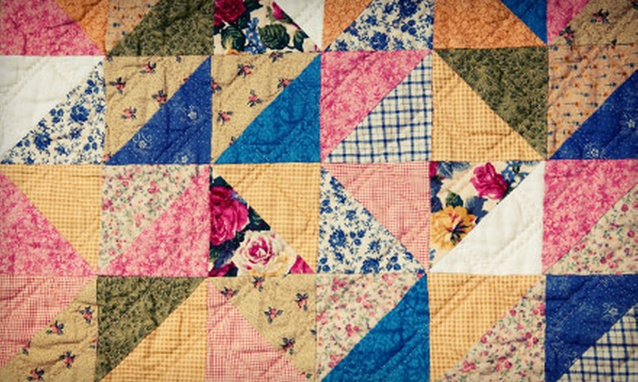 Winston's Sewing Center - Saint Charles: $19 for a Beginners' Quilting Class with Supplies at Winston's Sewing Center (Up to $50 Value)