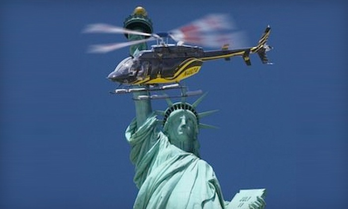 Zip Aviation - New York City: Big City Helicopter Tour for One or Two from Zip Aviation (Up to 49% Off)