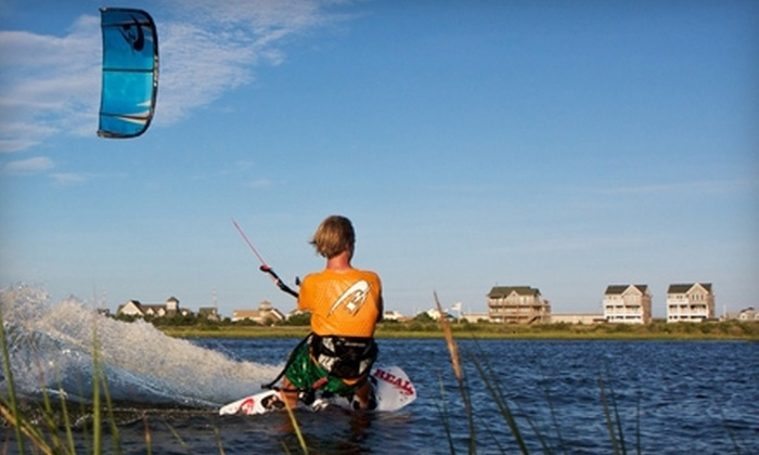Real Watersports - Waves: $50 for the Watermen's Adventure Package at Real Watersports in Cape Hatteras ($100 value).
