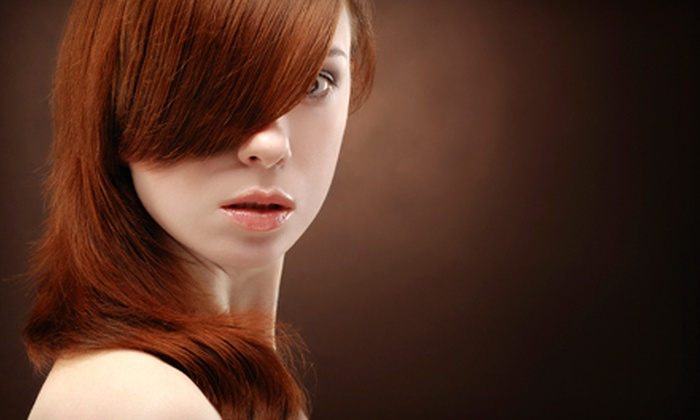 Studio Baby Salon - Mountain Park Ranch: $99 for a Brazilian Blowout, Haircut, and Style at Studio Baby Salon ($260 Value)