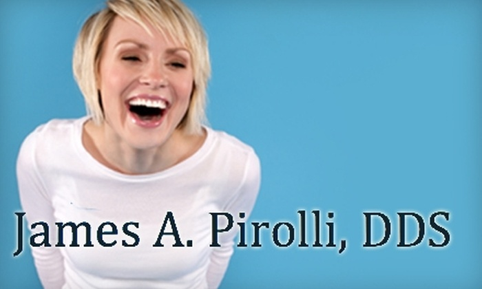 James A. Pirolli, D.D.S. - Tucson: $149 for an Initial Exam, Oral-Cancer Screening, and Zoom! Whitening Treatment at James A. Pirolli, D.D.S.