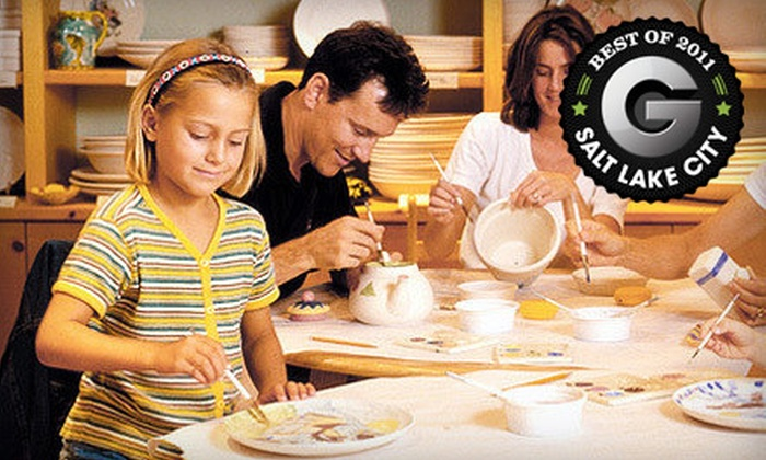 Color Me Mine - Multiple Locations: $10 for a Ceramics-Painting Session for Up to Five People at Color Me Mine (Up to $50 Value). Four Locations Available.