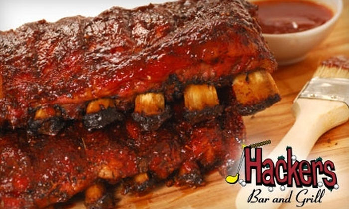 Hackers Bar & Grill - Akron: $10 for $20 Worth of Fresh American Fare and Drinks at Hackers Bar & Grill in Akron