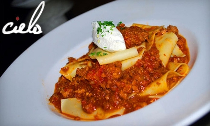 Cielo Restaurant - Downtown Scottsdale: $20 for $50 Worth of Gourmet Italian at Cielo Restaurant in Scottsdale