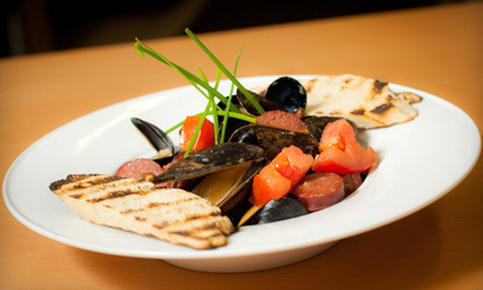 Flow Bar and Restaurant - Jim Thorpe: $30 for $60 Worth of Organic Farm-to-Table Fare at Flow Bar and Restaurant in Jim Thorpe