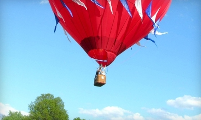 U.S. Hot Air Balloon Team - Multiple Locations: $299 for Hot Air Balloon Ride for Two Over Pennsylvania Countryside from U.S. Hot Air Balloon Team ($498 Value)