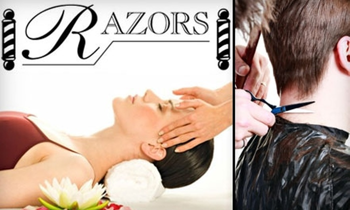 Razors - Shockoe Slip: $25 for $50 Worth of Salon and Spa Services at Razors