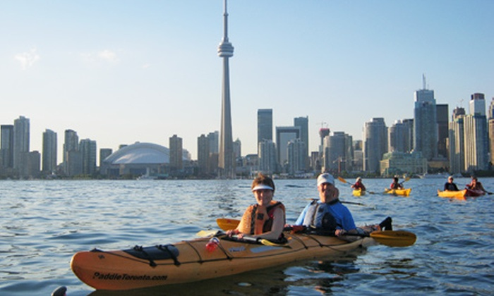 Harbourfront Canoe and Kayak Centre - Harbourfront Canoe & Kayak Centre: $65 for a Three-Hour Kayak Tour of the Toronto Islands for One from Harbourfront Canoe and Kayak Centre ($145.77 Value)