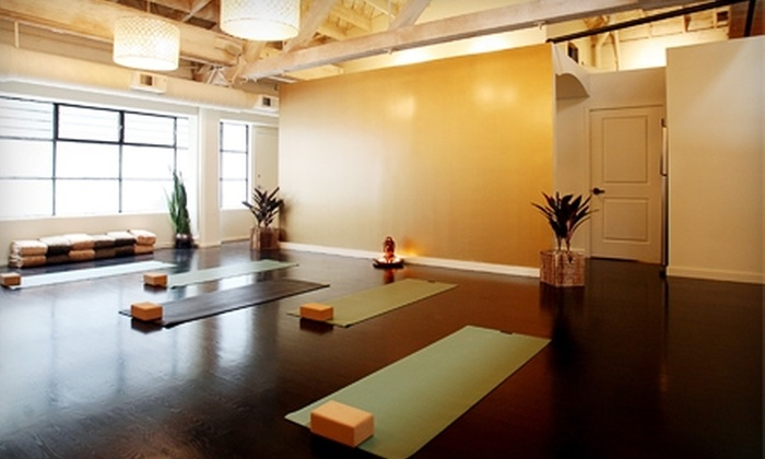 Cocoon Urban Day Spa - South Beach: $30 for One Private Yoga Session ($95 Value) or Five Vinyasa Classes ($75 Value) at Cocoon Urban Day Spa