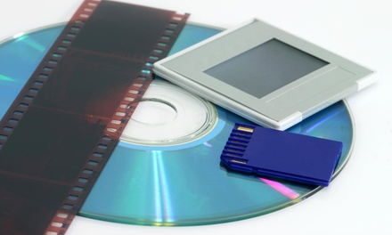 $45 for $150 Worth of Digitalization  Digital Restoration Services