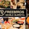 Half Off at Freebirds World Burrito