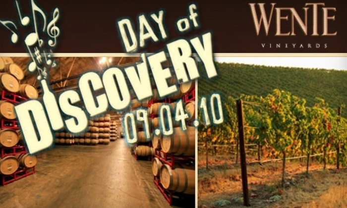 Wente Vineyards - Livermore-Pleasanton: $14 for One Ticket to Day of Discovery Festival (Up to $35 Value)