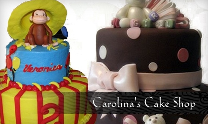 Carolina's Cake Shop - Burlington: $20 for a 10-Inch Round Buttercream Cake or Two-Dozen Cupcakes at Carolina's Cake Shop (Up to $40 Value)