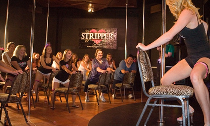 Stripper 101 - The Strip: $22 for a Basic Pole-Dancing Package from Stripper 101 at The V Theater ($45 Value)