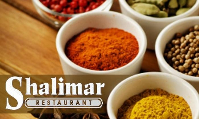 Shalimar Indian Restaurant - Louisville: $10 for $20 Worth of Indian Cuisine at Shalimar Indian Restaurant