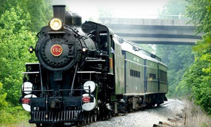 Kentucky Railway Museum - New Haven: One Train-Ride Excursion for an Adult or Child to the Kentucky Railway Museum in New Haven