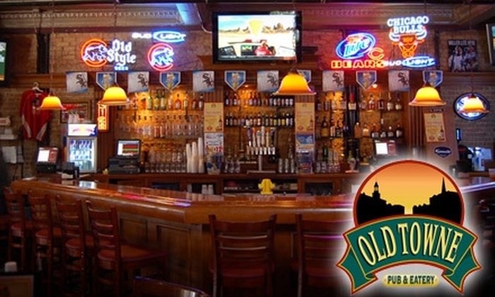 Old Towne Pub and Eatery - Multiple Locations: $10 for $20 Worth of Fare and Drinks at Old Towne Pub and Eatery in Geneva or Wasco