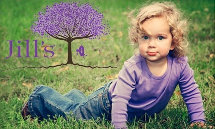 Jill's, A Children's Portrait Boutique - Downtown Naperville: $100 for a One-Hour Photo Shoot and 25 Retouched Images on a CD at Jill's, A Children's Portrait Boutique in Naperville ($299 Value)
