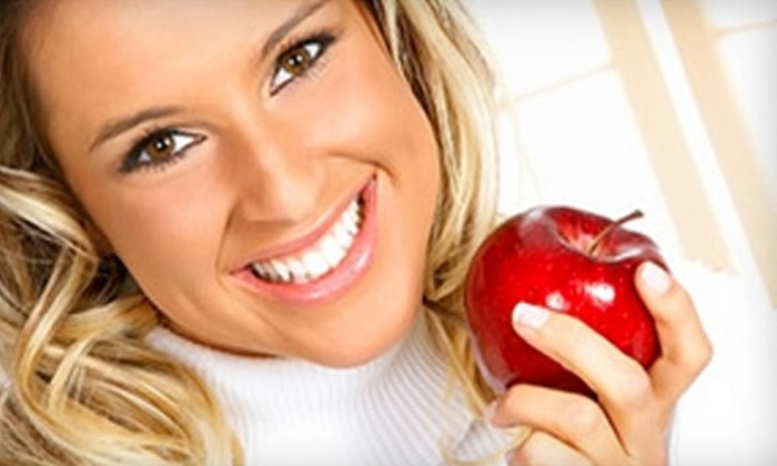 Twin Dental - Briargate: Dental Exam and Cleaning or Teeth Whitening at Twin Dental. Two Options Available.