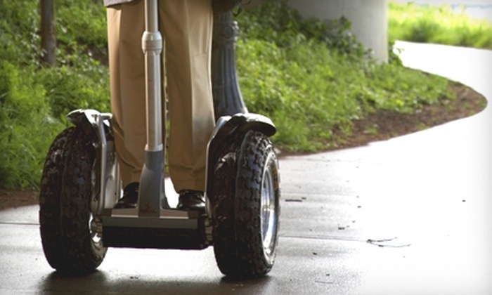 Chatt Glide Tours - Downtown Columbus: $25 for a Two-Hour Segway Ride of Downtown Columbus and River Walk with Chatt Glide Tours ($55 Value)