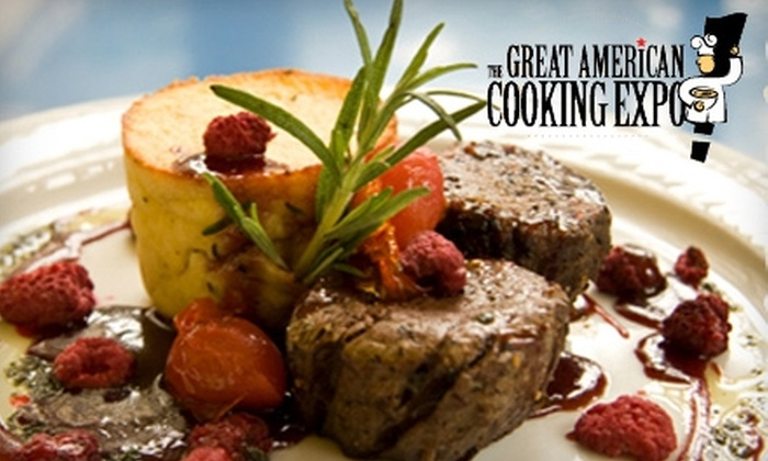 Great American Cooking Expo - Oakbrook Terrace: $15 for Two Adult Admissions to the Great American Cooking Expo in Oakbrook Terrace ($30 Value). Choose Between Two Dates.