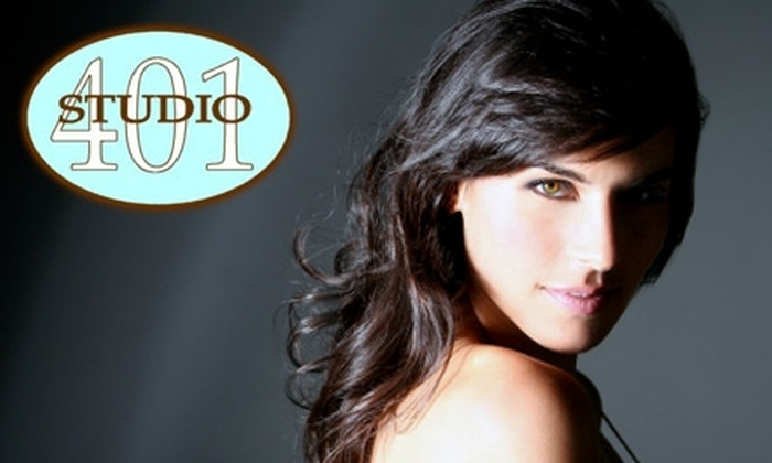 Studio 401 - East Greenwich: $35 for $75 Worth of Salon and Spa Services at Studio 401 in East Greenwich